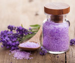 Lavender Bath Salts for the Essential Oil Guide for Beginners