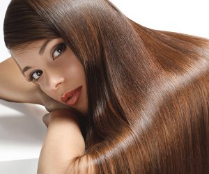 shiny hair from Essential Oils used for hair regrowth