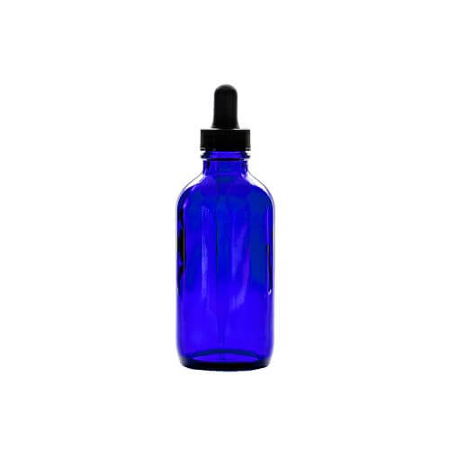 Apothecary Bottles – 4oz Glass With Dropper