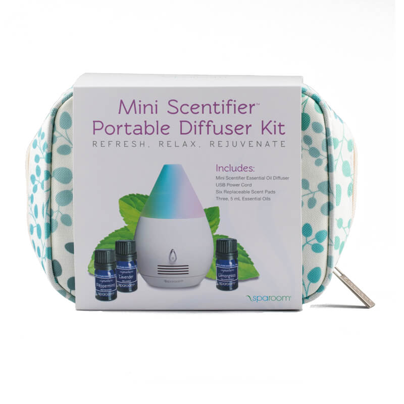 Aromatherapy Diffusers For Travel Mini Scentifier Portable diffuser