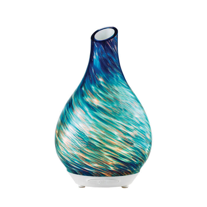 Seascape Essential Oil Diffuser turned on