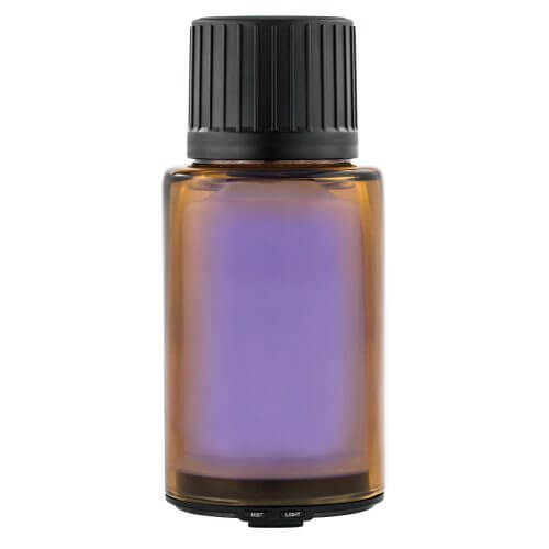 AmberMist Essential Oil Diffuser with Power On