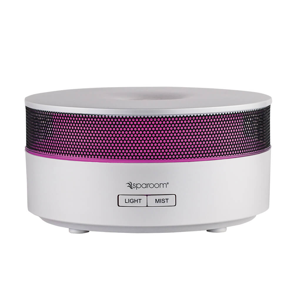 AromaMist Essential Oil Diffuser with Power On