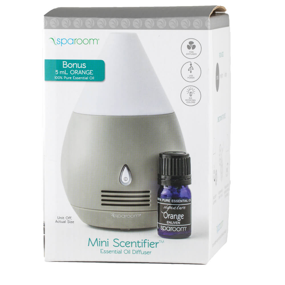 BTC MiniScentifiers Essential Oil Diffuser In Package