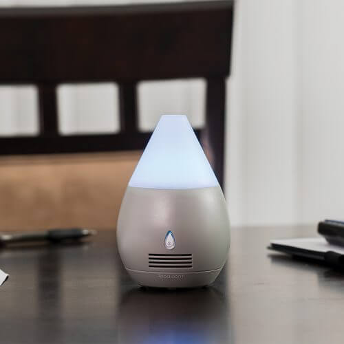 BTC MiniScentifiers Essential Oil Diffuser on Table