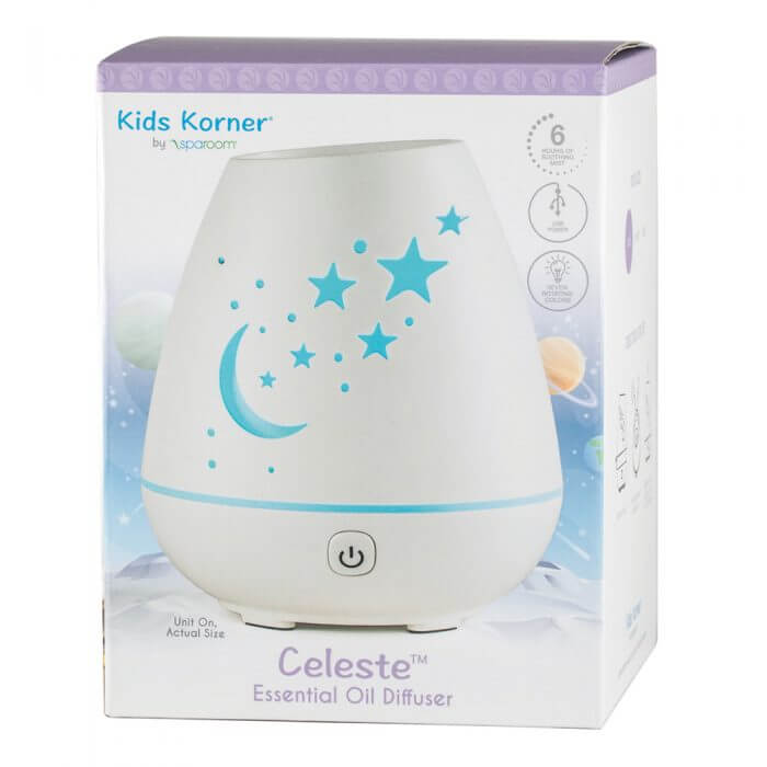 Celeste Essential Oil Diffuser In Package