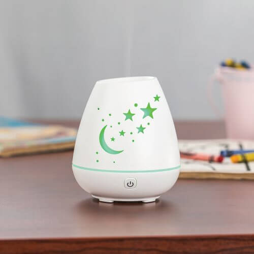 Celeste Essential Oil Diffuser on Table