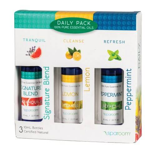Daily 3 Pack Essential Oil Package