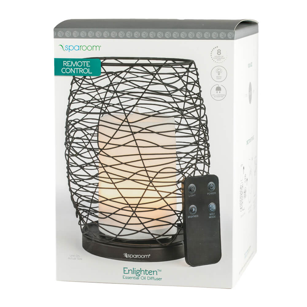 Enlighten Essential Oil Diffuser with Oil In Package