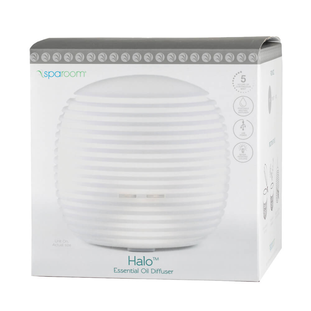 Halo Essential Oil Diffuser In Package