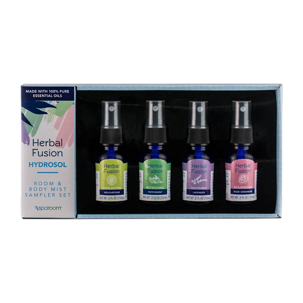 Herbal Fusion Hydrosol Kit Front