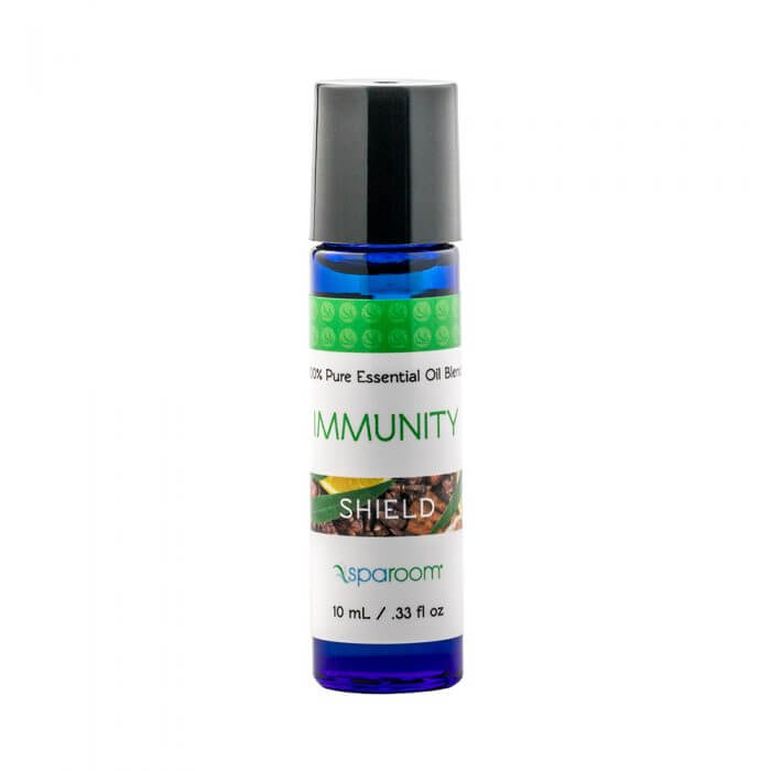 Immunity Essential Oils Blend 10mL Bottle Closed