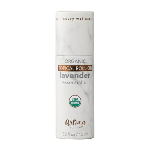 Lavender Organic Roll On Tube