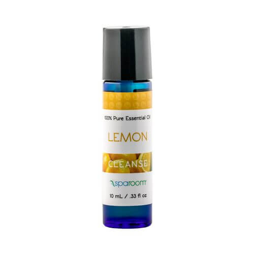 10 mL Lemon Essential Oil Bottle Closed