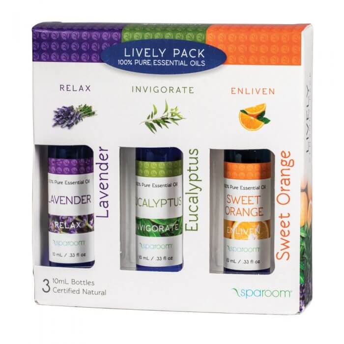 Lively 3 Pack Essential Oil Package