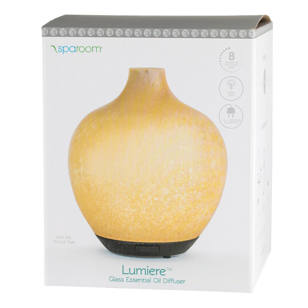 Lumiere Essential Oil Diffuser In Package