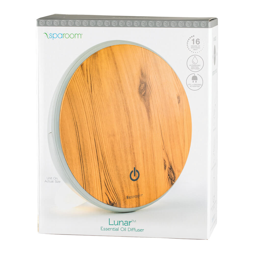 Lunar Essential Oil Diffuser In Package