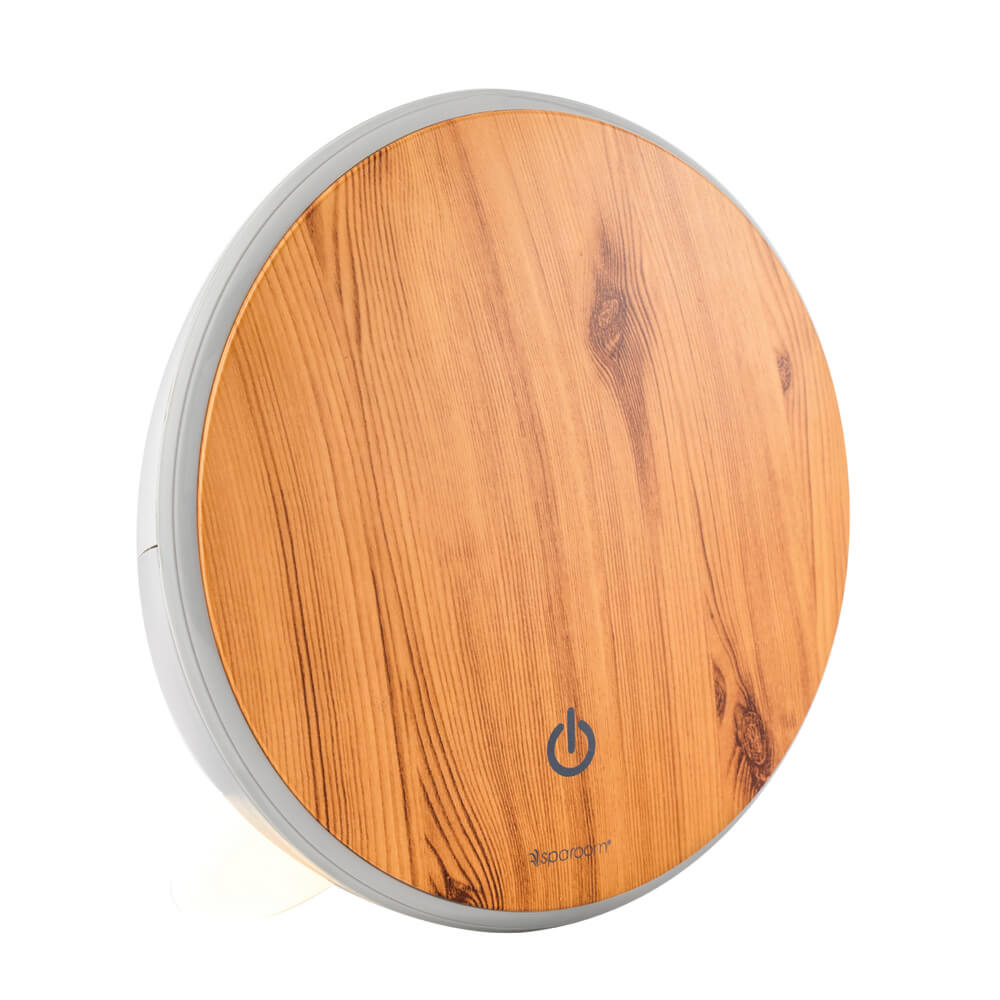 Lunar Essential Oil Diffuser with Power On
