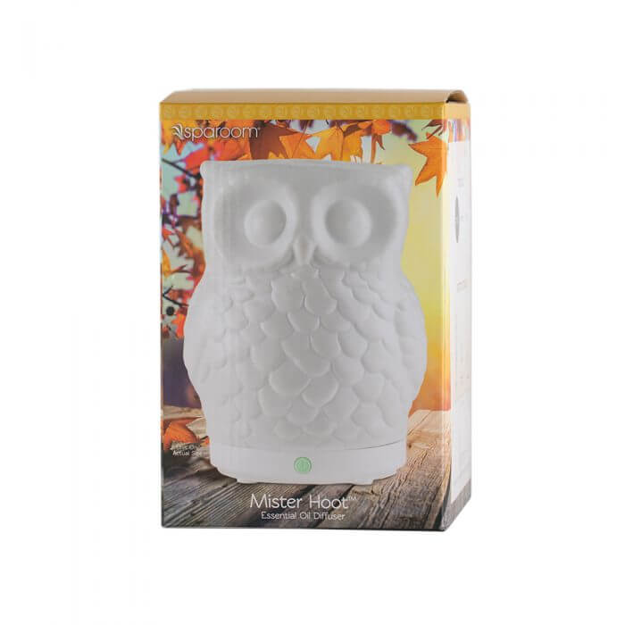 Mister Hoot Essential Oil Diffuserr in Package