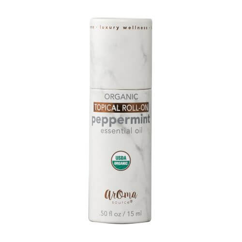 Peppermint Organic Roll On Tube