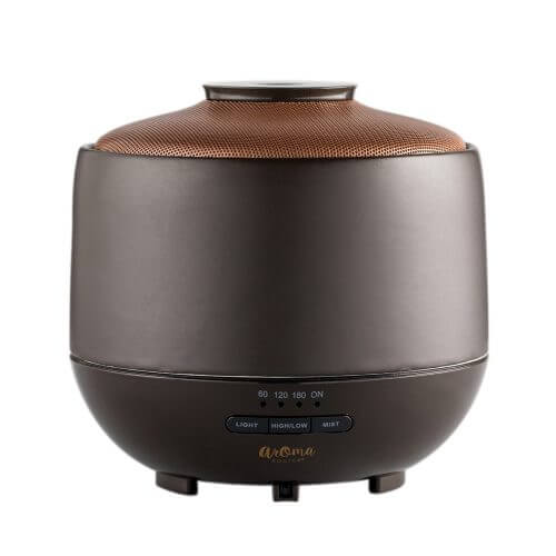 PremAir Ultrasonic Essential Oil Diffuser turned on