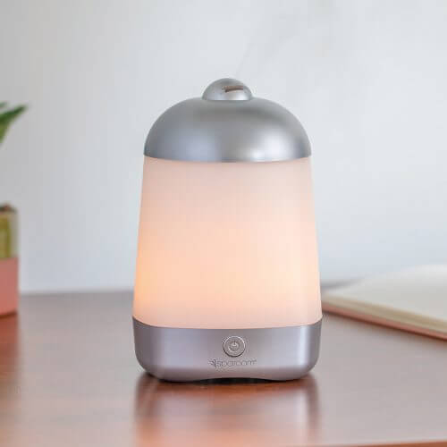 SpaMistVP Essential Oil Diffuser on Desk