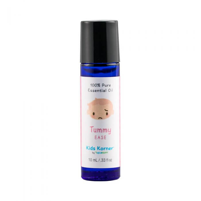 Kids Korner Tummy Essential Oils Blend 10mL Bottle Closed