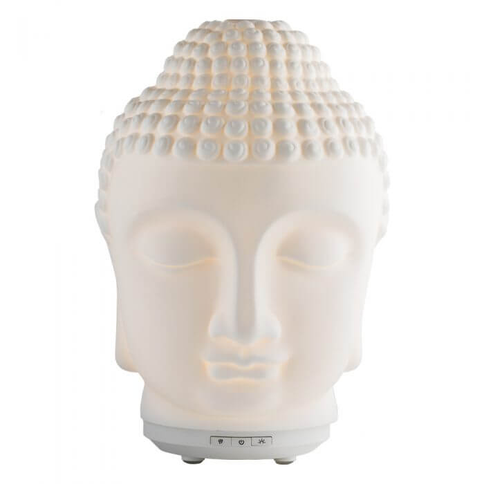 Zen Ultrasonic Essential Oil Diffuser with power on