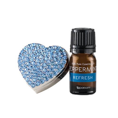 BlingAir Car Diffuser Blue with Essential Oil
