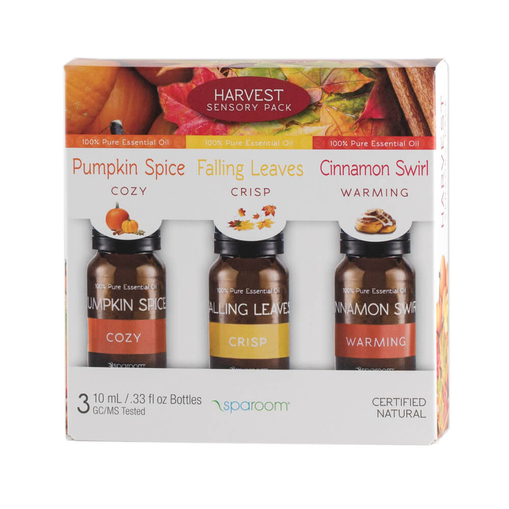 Harvest 3 Pack Essential Oil Package