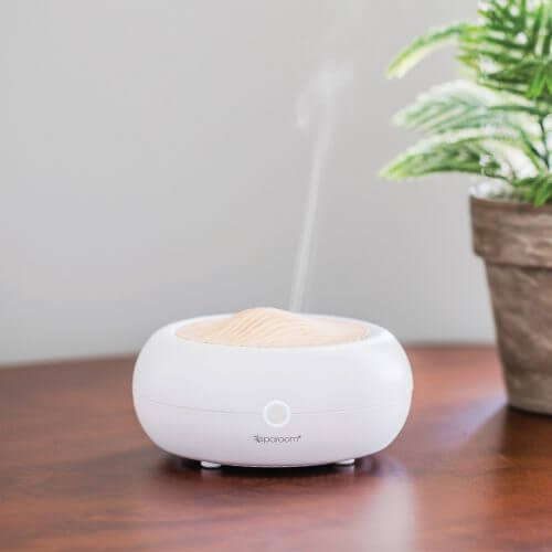 Mini Moderno Essential Oil Diffuser on Desk