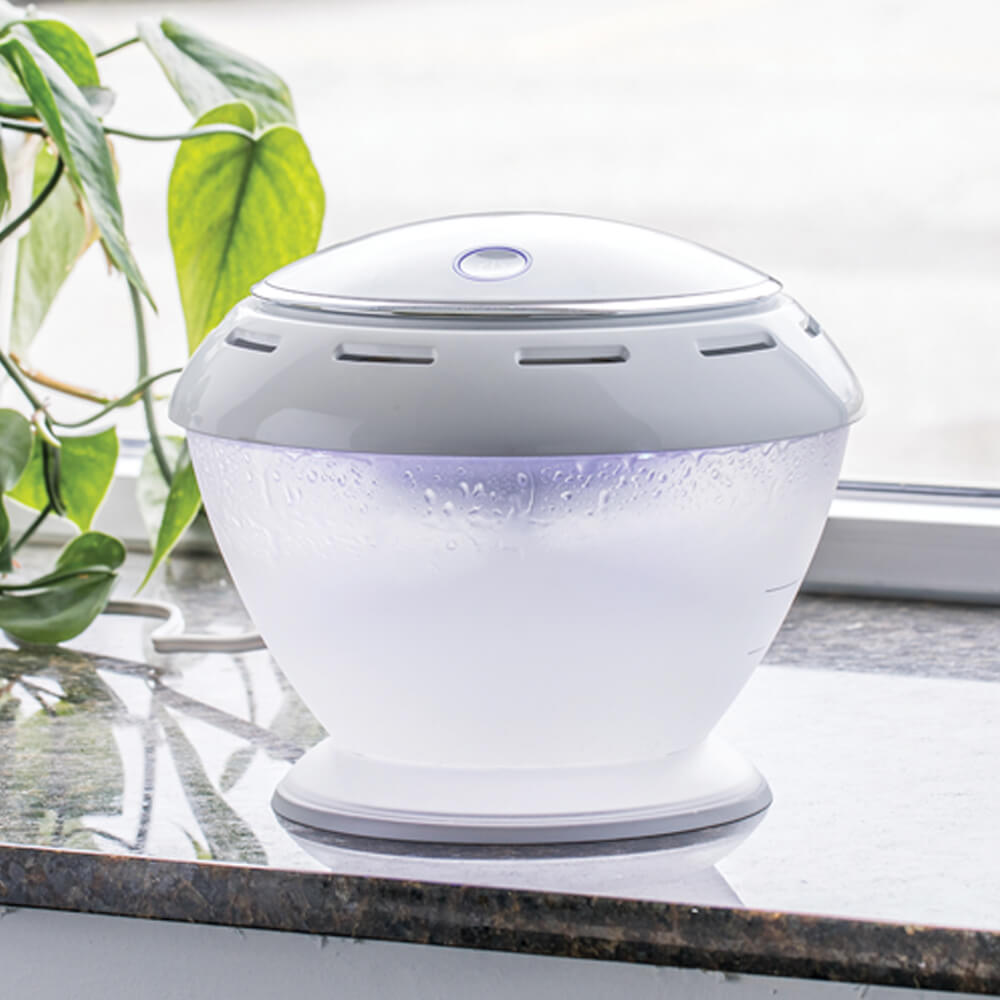 Puralizer Essential Oil Diffuser on counter