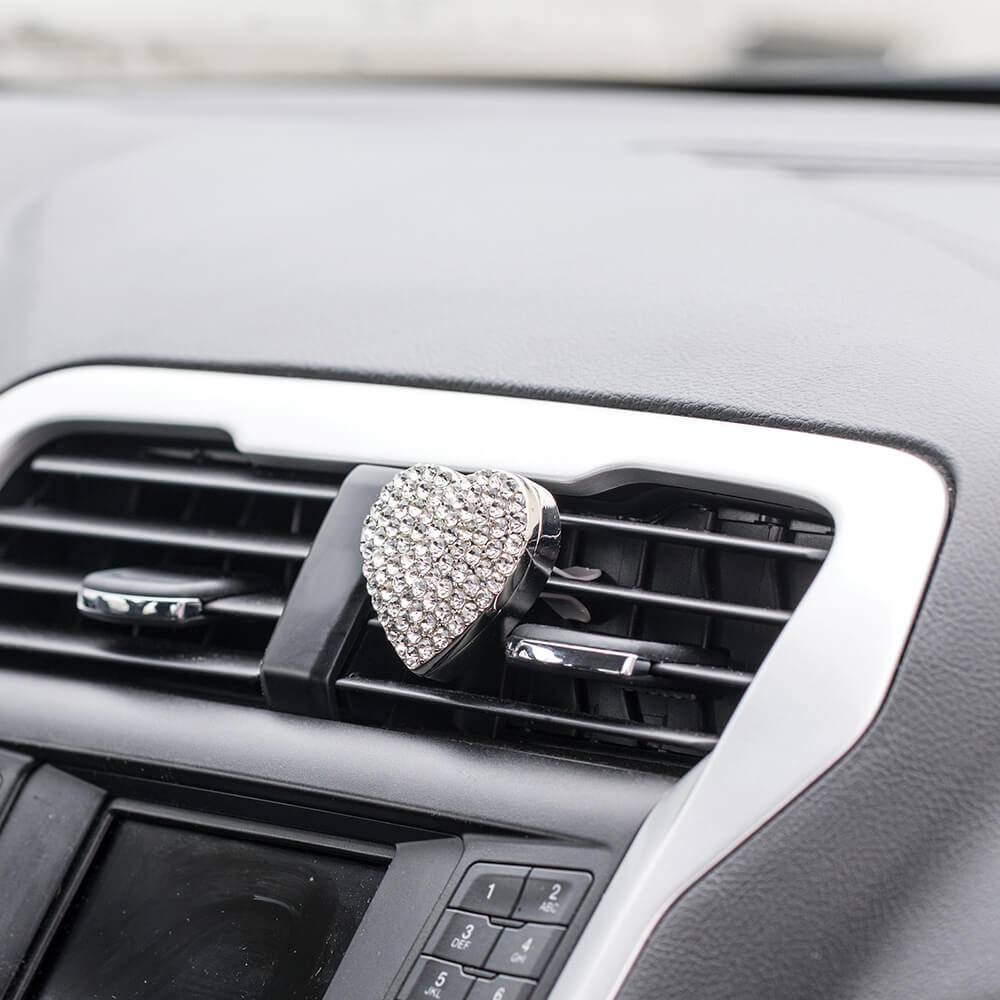 Silver BlingAir Car Diffuser on vent in car