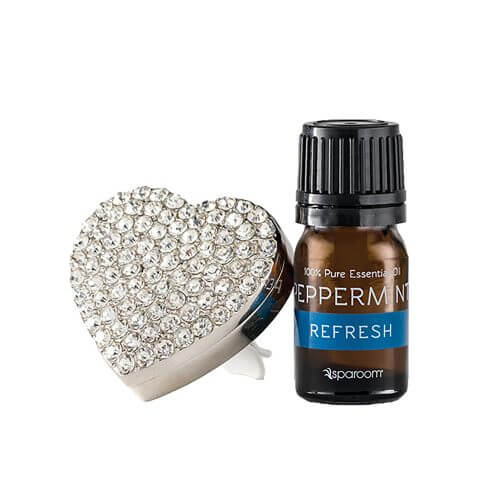 Silver BlingAir Car Diffuser with Essential Oil