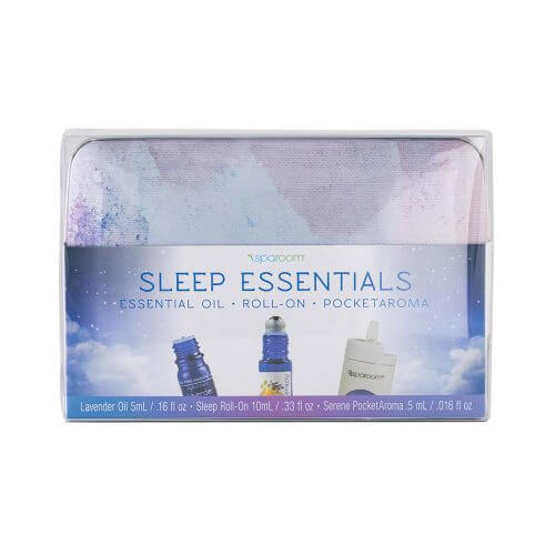 Essential Oil Sleep Kit packaged up