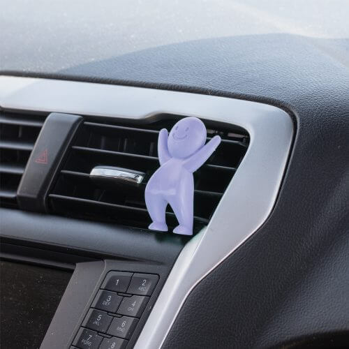 Smellies-Car Air Freshener-LavenderField on Car Vent
