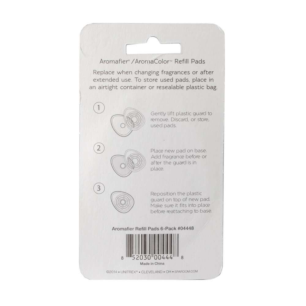 Aromafier Essential Oil Diffuser Refill Pads - Back