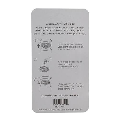 EssentialAir Refill Pads Back
