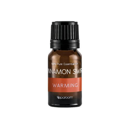 Cinnamon Swirl Essential Oil Blend 100% Pure Essential Oil bottled and closed