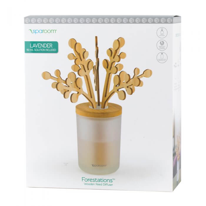 Lavender Forestations Reed Diffusers Box