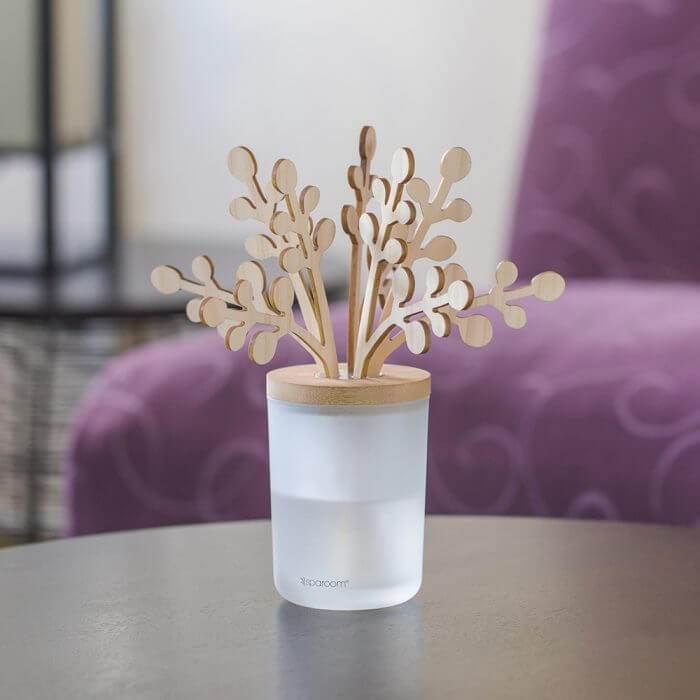Lavender Forestations Reed Diffuser - On Table Top