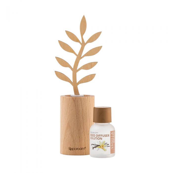 Mini Forestations Reed Diffuser - Vanilla Bean