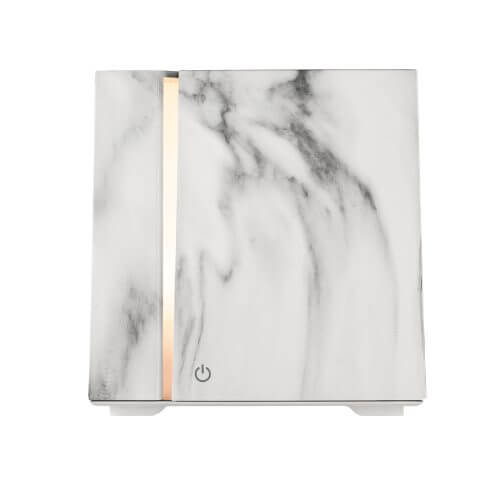 Onyx White Essential Oil Diffuser - Power On