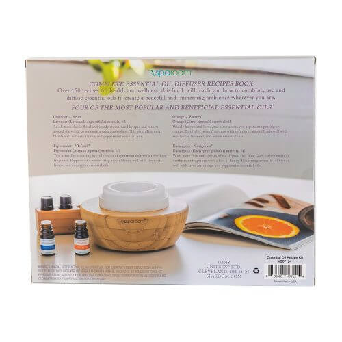Essential Oil Recipe Kit - Back