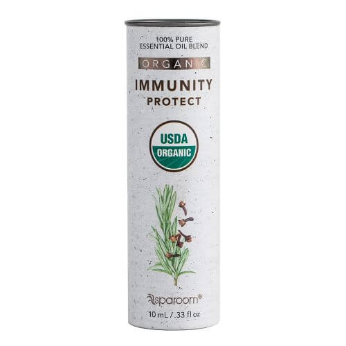 Immunity Organic Essential Oil Blend 10mL Package