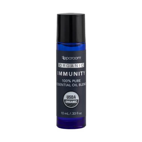 Immunity Organic Essential Oil Blend 10 mL bottle closed