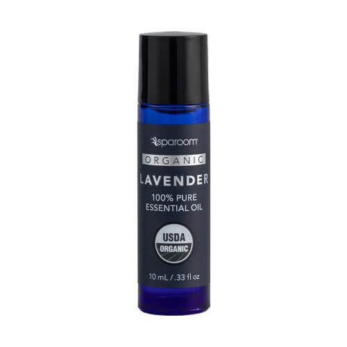 Lavender Organic Essential Oil 10 mL bottle closed