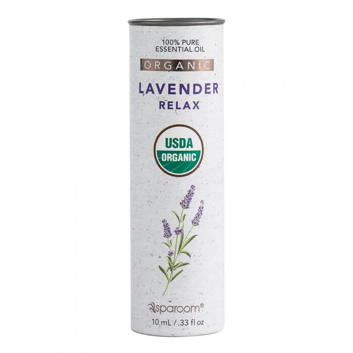 Lavender Organic Essential Oil 10mL Package