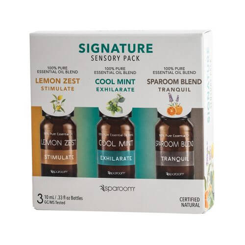 Signature 3 Pack Essential Oils - Package Front