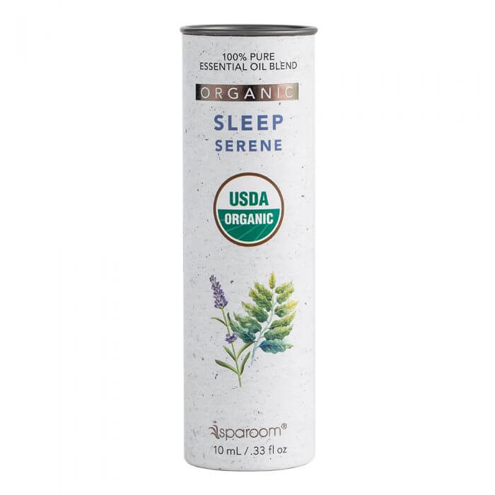 Sleep Organic Essential Oil Blend 10mL Package
